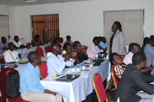 Fellows attending a face to face session under the Governance Leadership and Management Fellowship